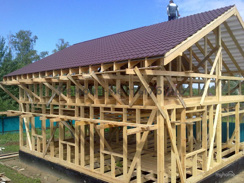 Строим дом своими руками видео каркасный