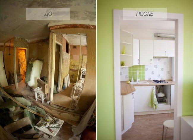 дизайн ремонт кухни